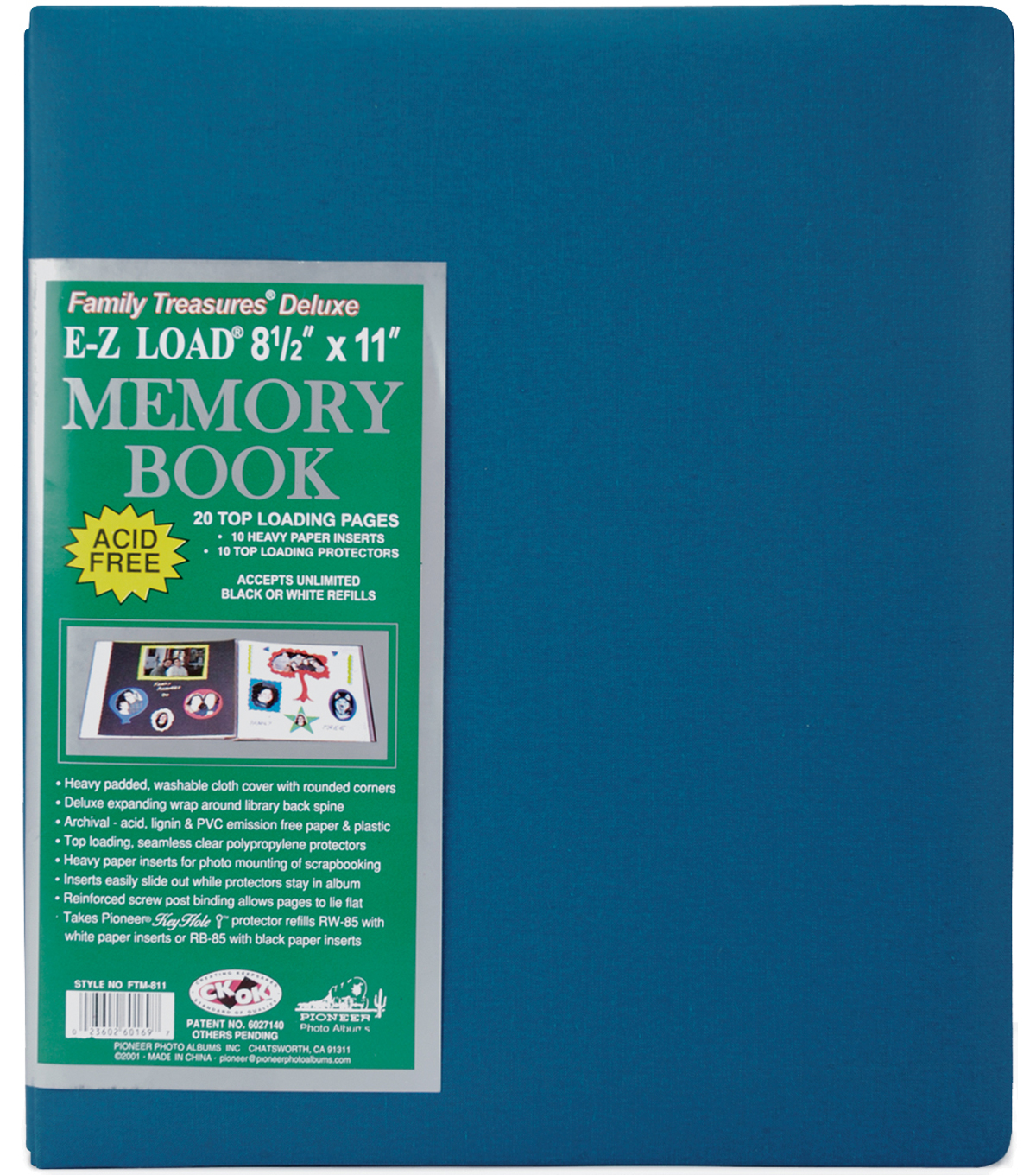 Pioneer E Z Load Deluxe 8 12x11 Postbound Albums Joann