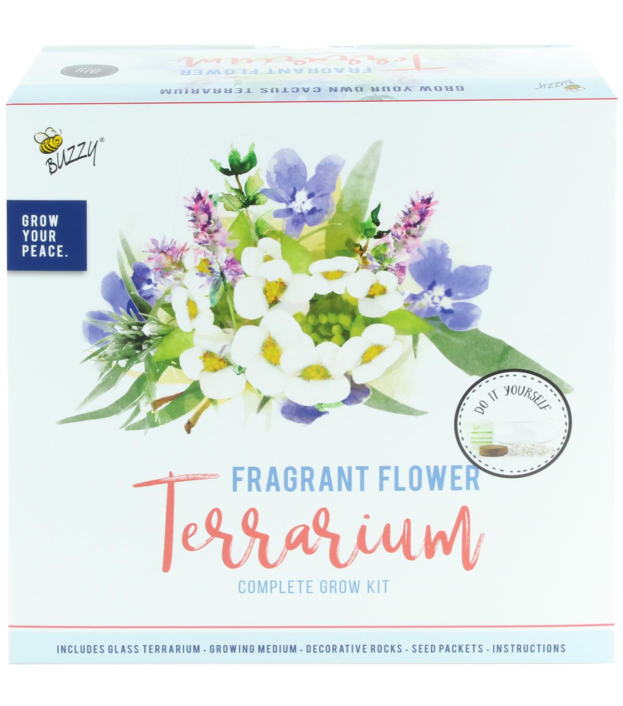 Buzzy Fragrant Flower Diy Terrarium Complete Grow Kit Joann