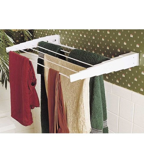 Household Essentials Telescoping Wall Mount Dryer