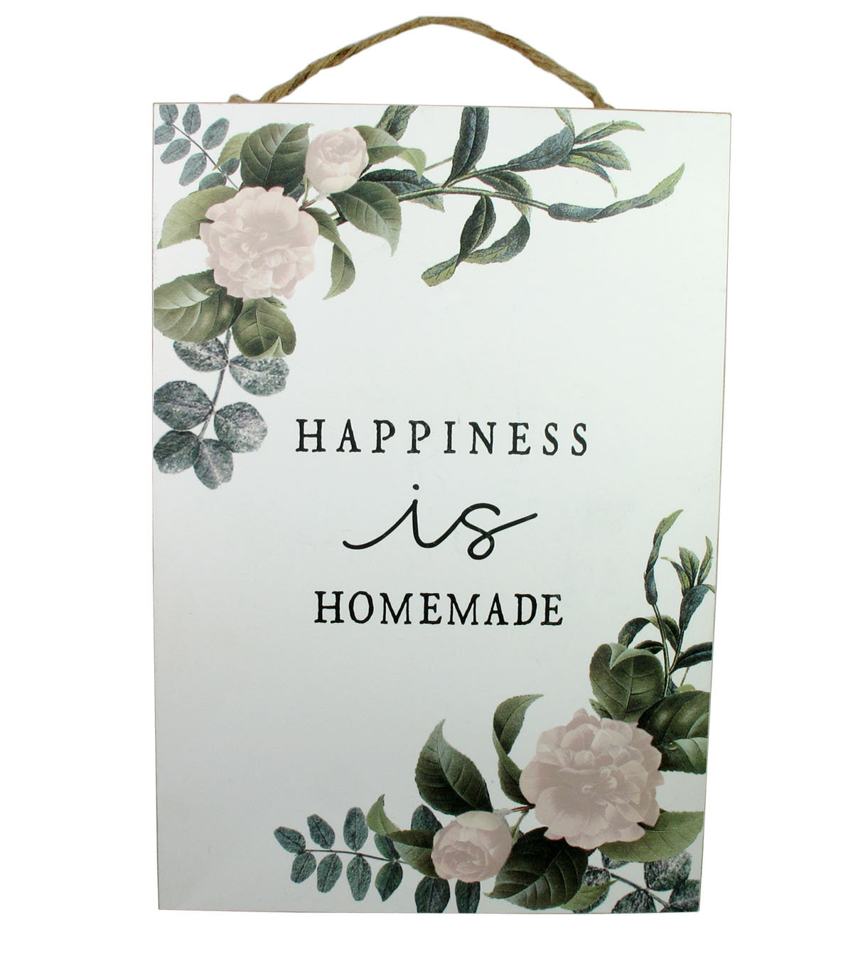 Simply Spring Wood Wall Decor-Happiness is Homemade