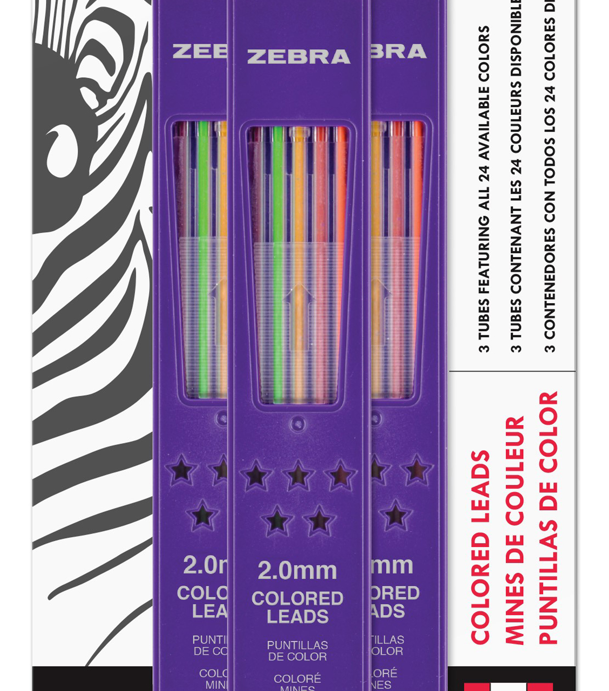 Zebra Zensations Colored Pencil Lead Refills