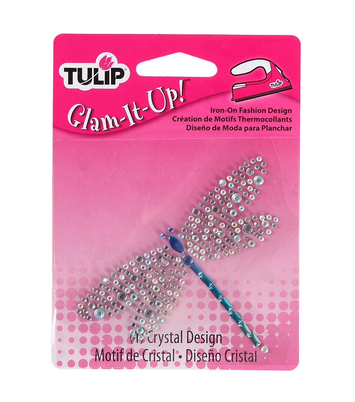 Tulip Glam-It-Up! Iron-On Fashion Designs Dragonfly | JOANN