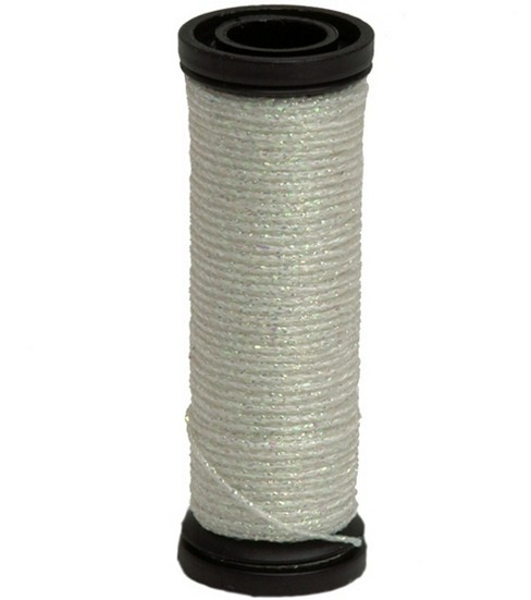 Kreinik Braid Metallic Thread Fine Size 8, Pearl - 032