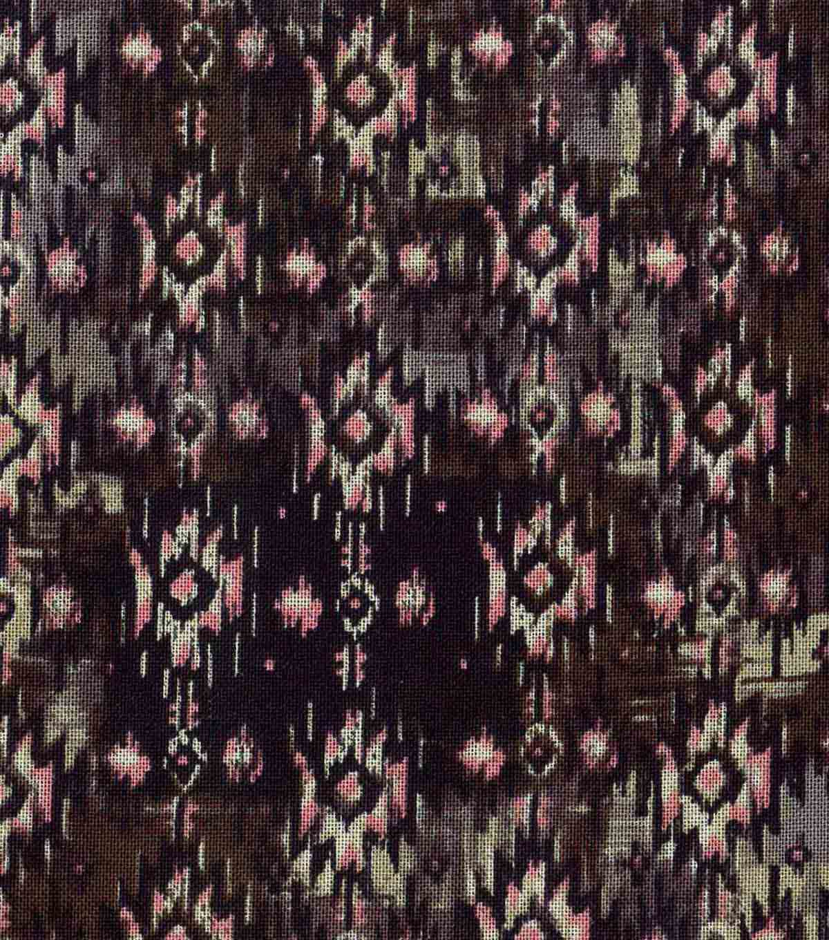 Modern Cotton Fabric 43\u0022-Linear Aztec Lines