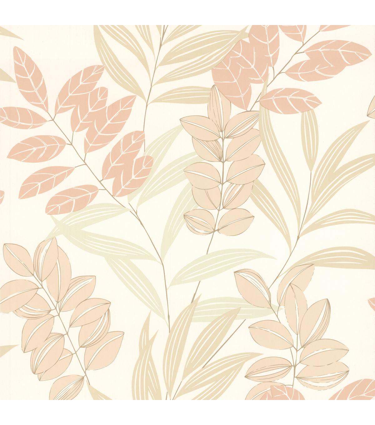 Tahiti Salmon Tropical  Wallpaper Sample