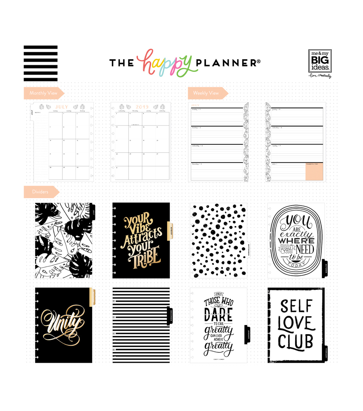 The Happy Planner 18 Month Planner-More More More Happy