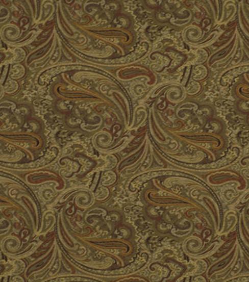 Robert Allen Home Lightweight Decor Fabric 54 U0022 Patna Paisley E