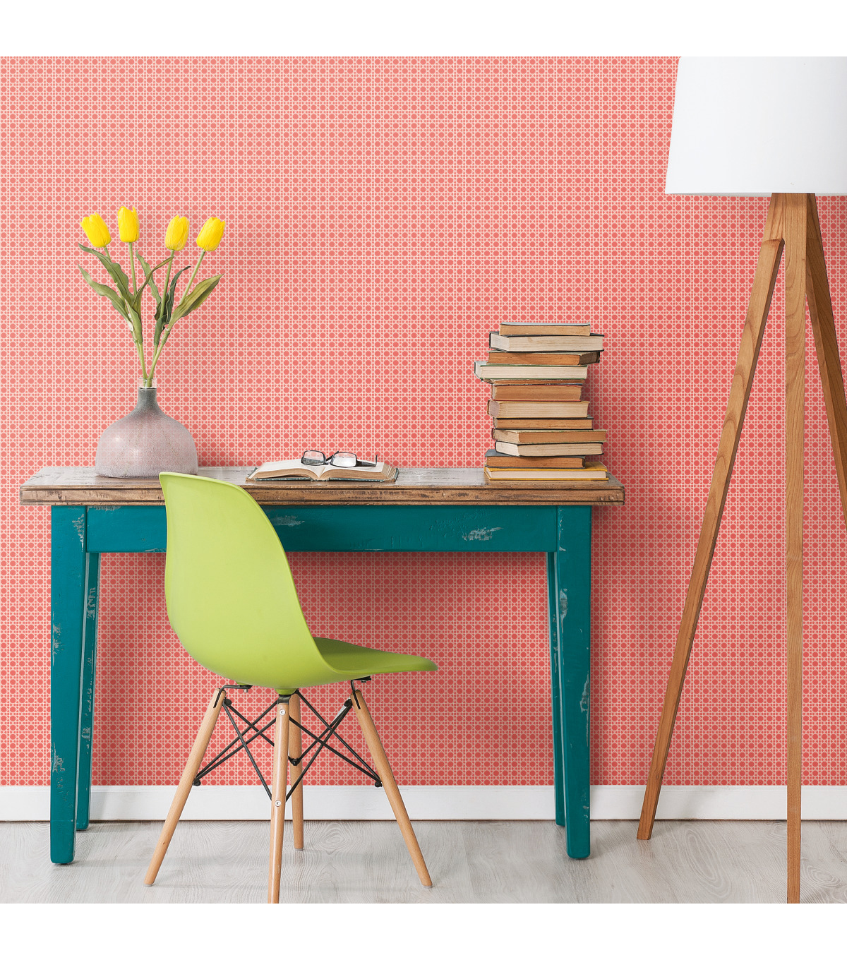 York Wallcoverings Wallpaper-Coral Caning