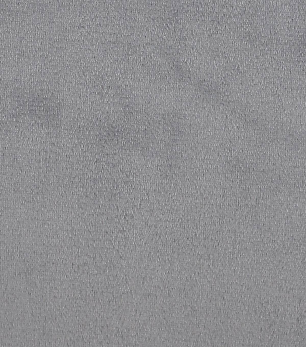 Sew Lush Fleece Fabric -Frost Gray Solids