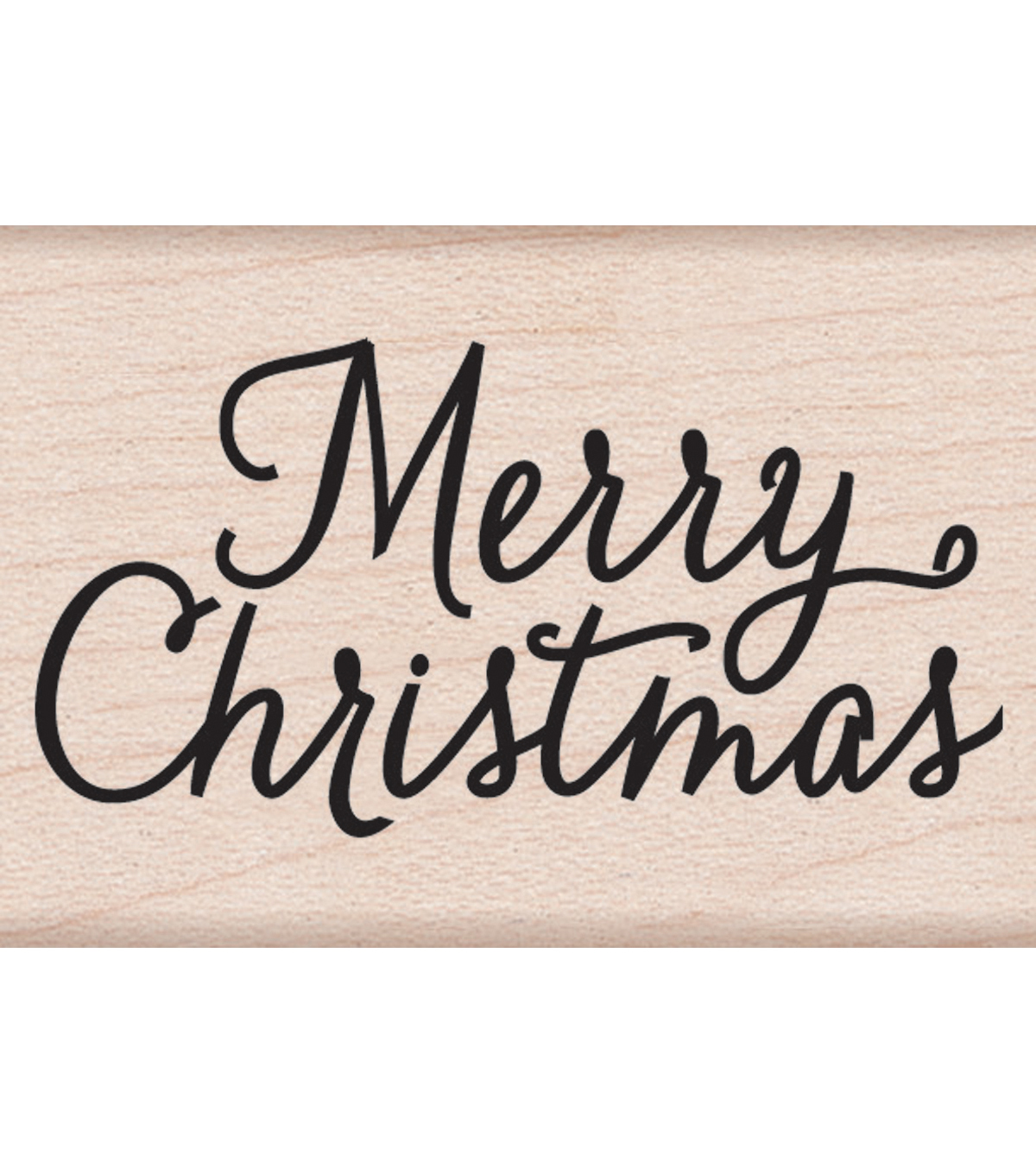 Hero Arts Mounted Rubber Stamps 2\u0022X1.5\u0022-Merry Christmas