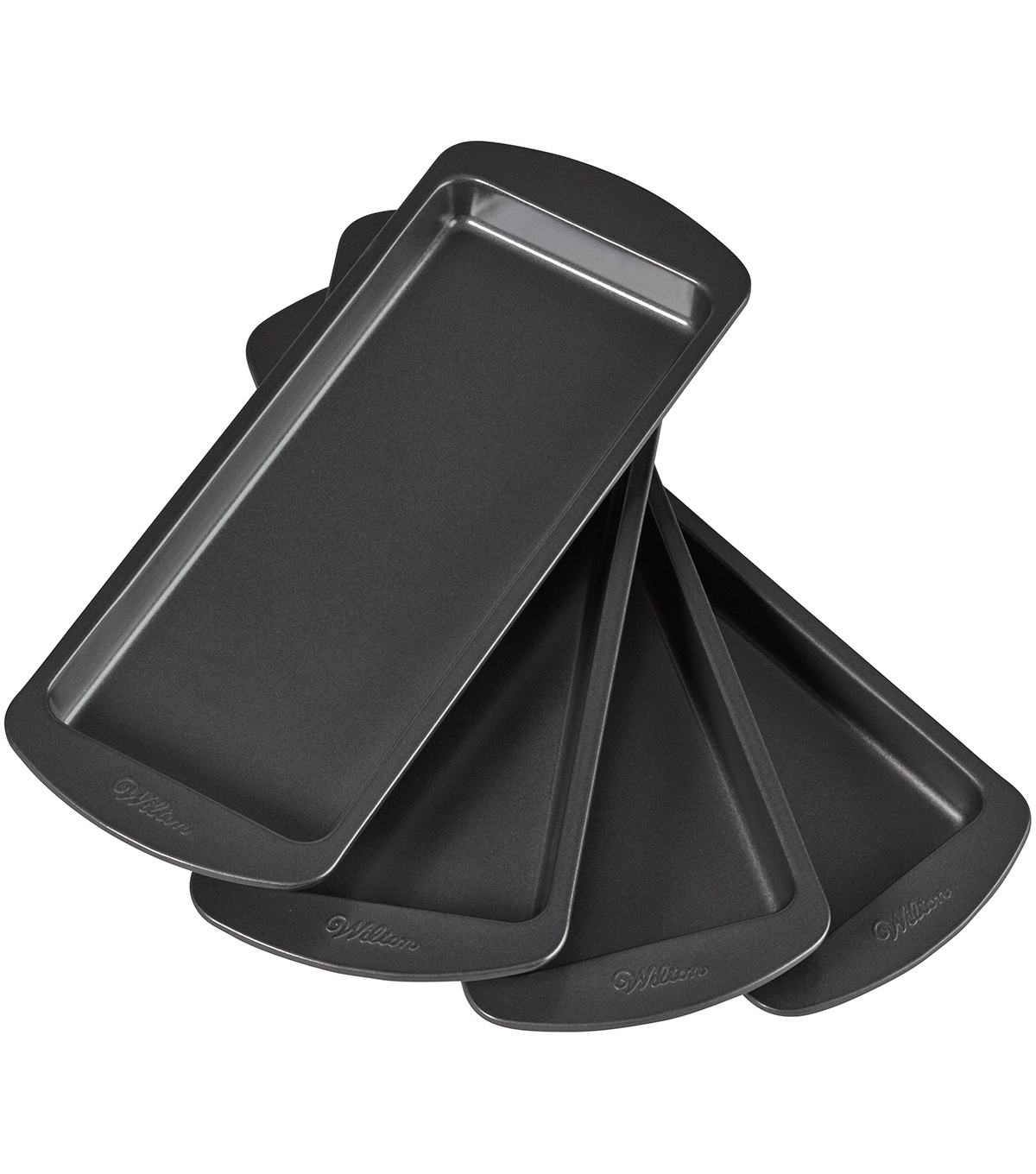 Wilton 4pc Easy Layers Loaf Pan Set