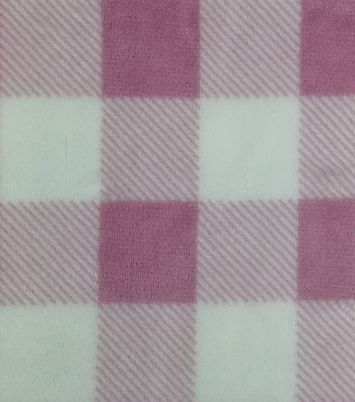 Sew Lush Fabric -Blush Buffalo Check