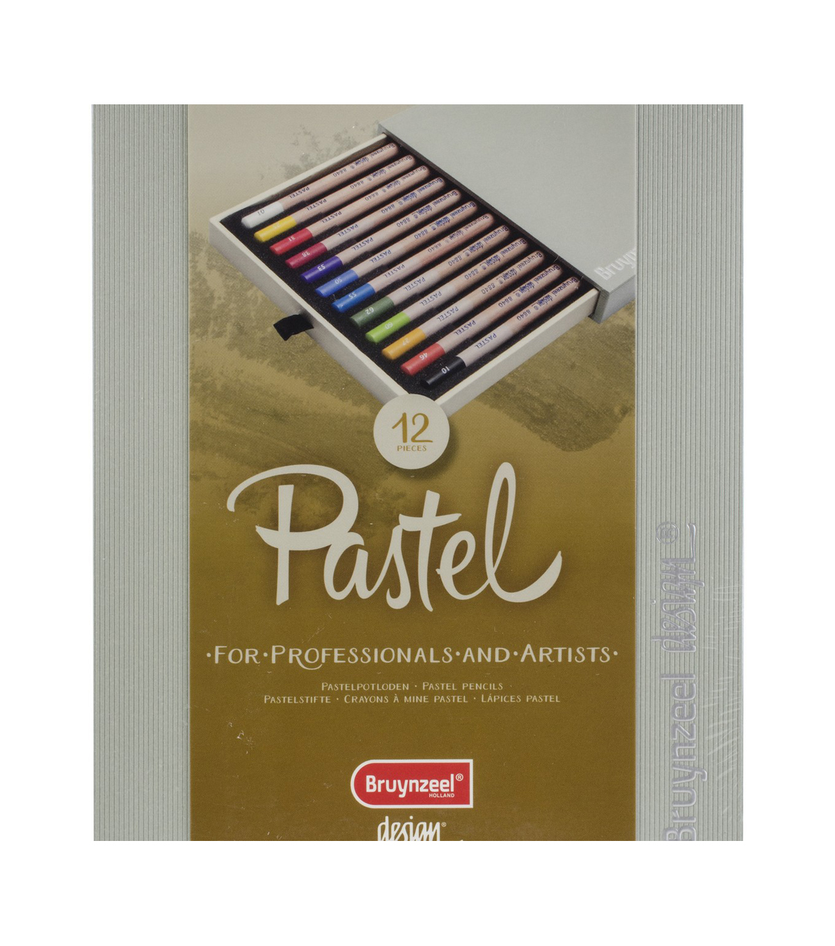 Bruynzeel Design 12 pk Pastel Pencils