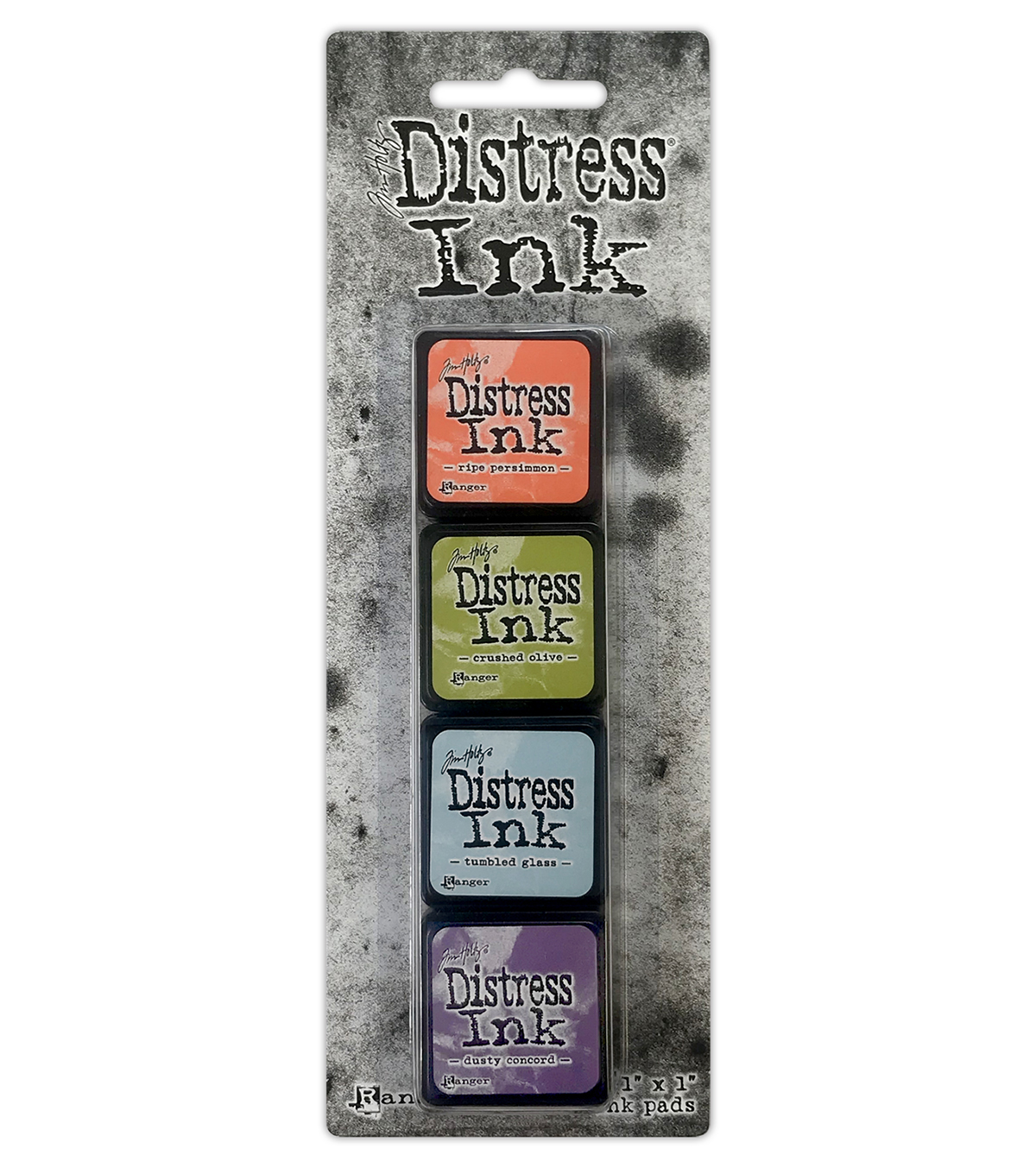 Tim Holtz Distress Mini Ink Kits-Kit 8