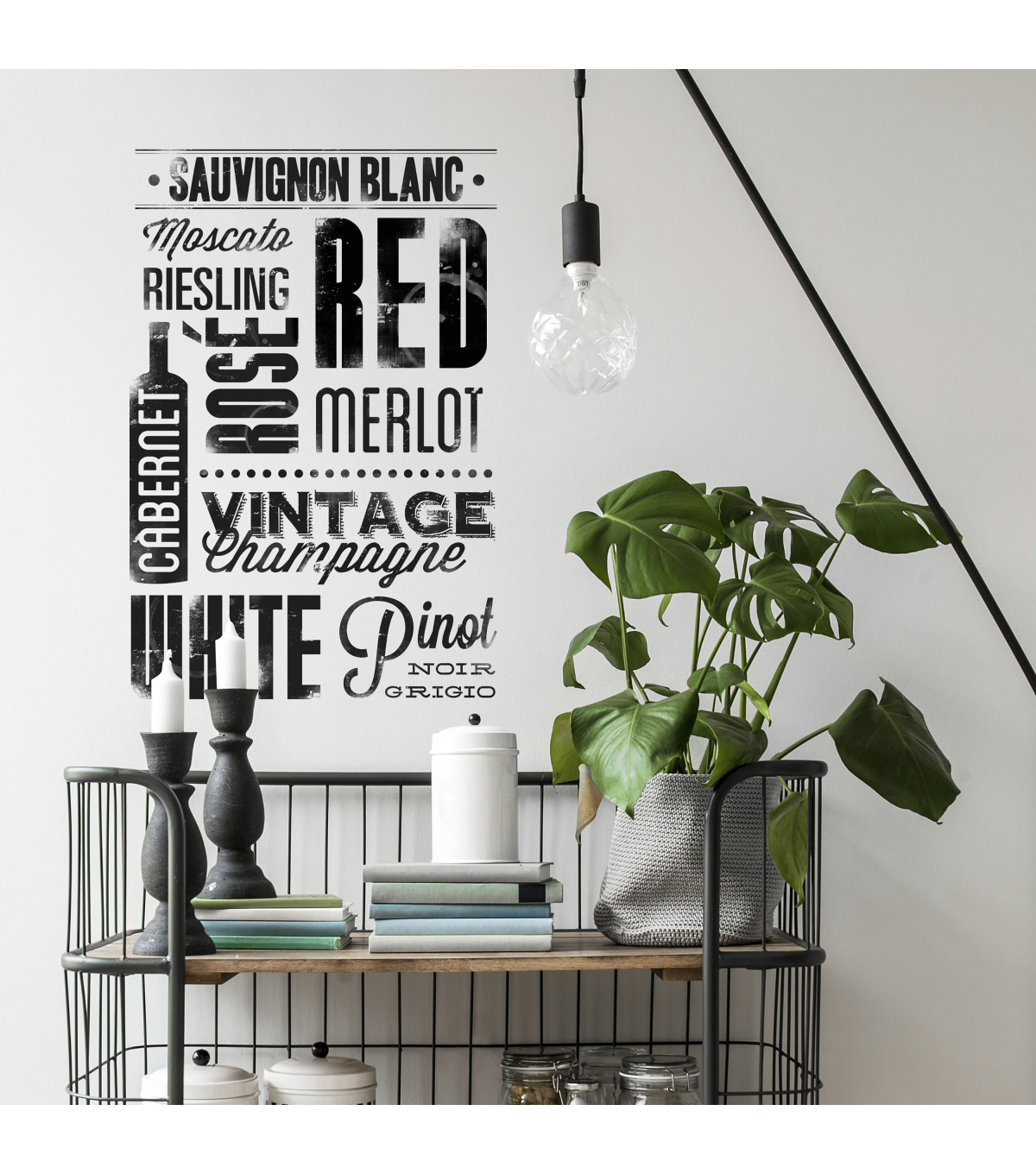 York Wallcoverings Wall Decals-Wine Lovers