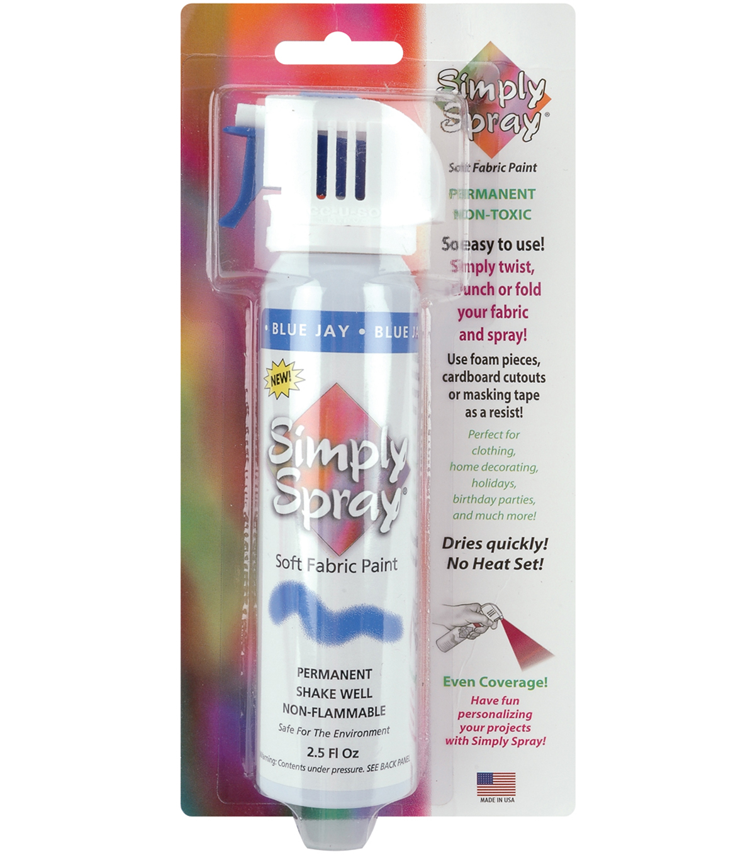 Simply Spray Soft Fabric Spray Paint Joann