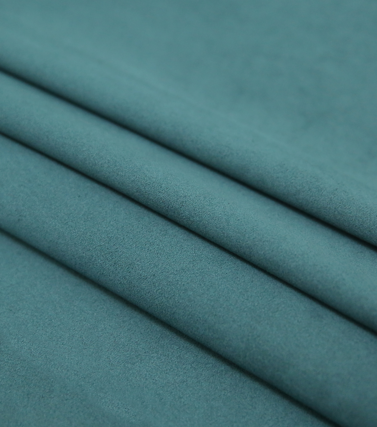 Faux Suede Stretch Fabric-Deep Atlantic