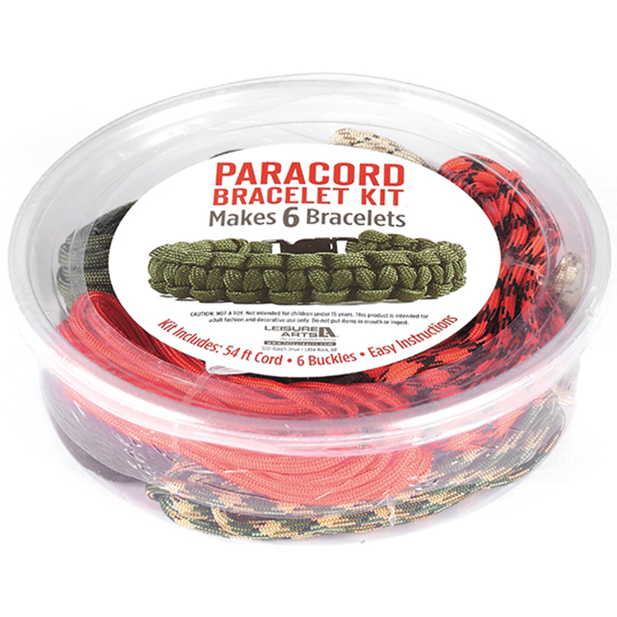 Leisure Arts Paracord Kit Boy