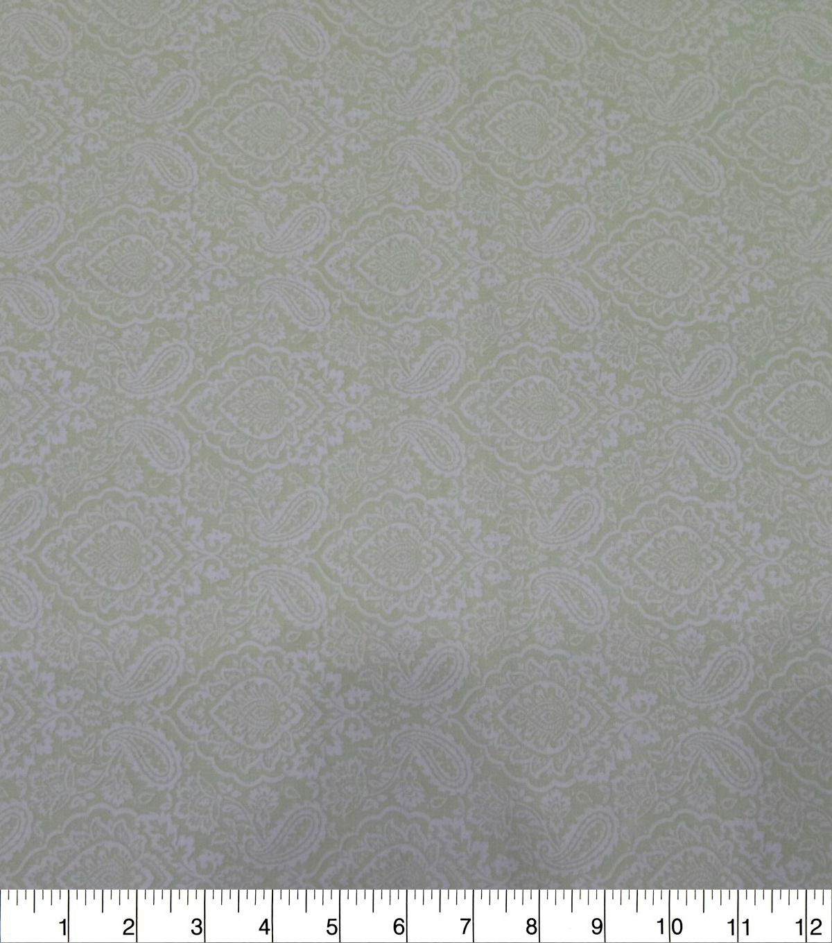 Quilter\u0027s Showcase Cotton Fabric-Damask Mint