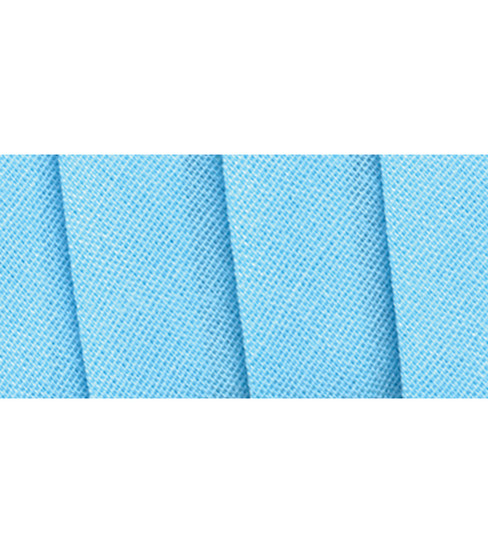 Wrights Extra Wide Double Fold Bias Tape, Light Blue
