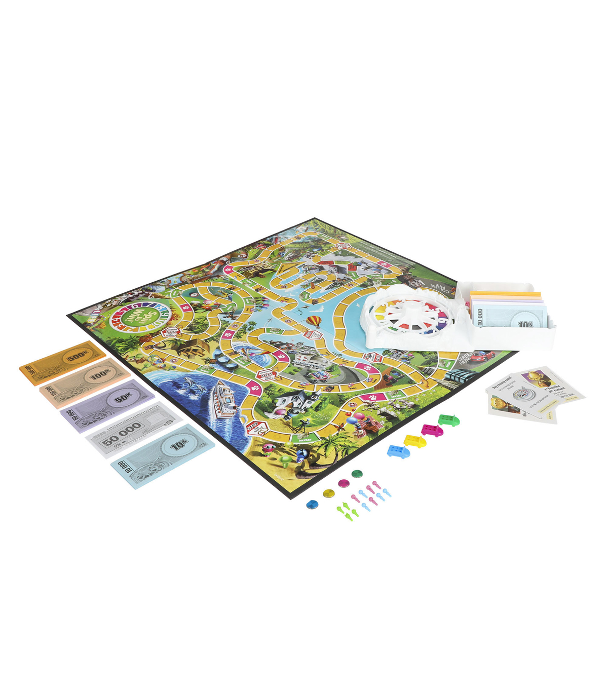 Hasbro Gaming The Game of Life Kit
