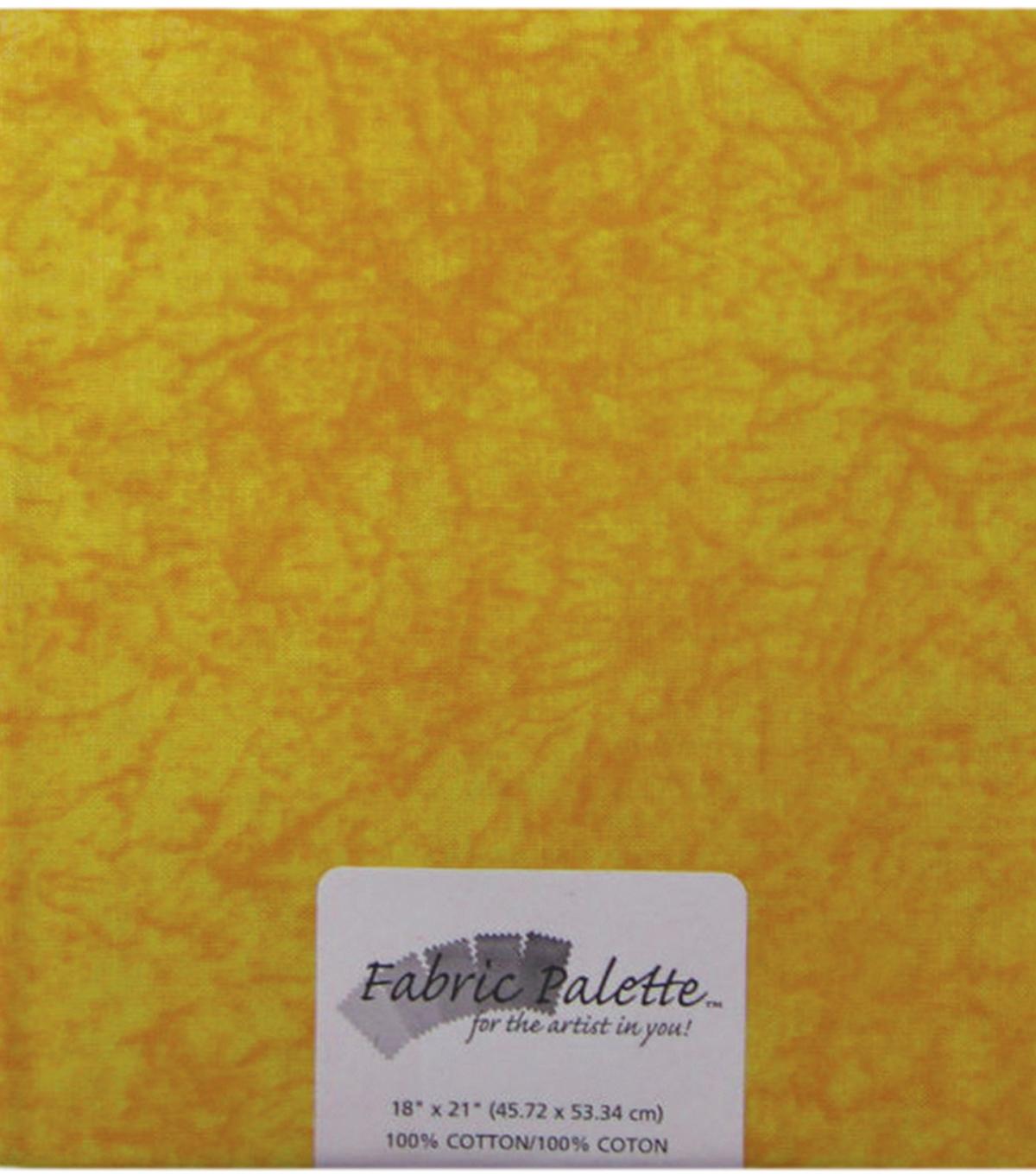 Fabric Palette 1/4yd Pre-cut Cotton Fabric-Yellow Texture