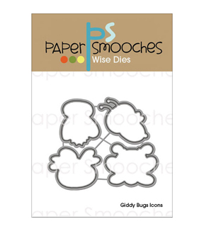 Paper Smooches Wise Die-Giddy Bugs