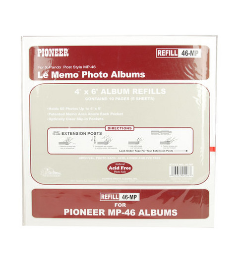 Pioneer Refill Pages 200pkt 6 Up Album Joann