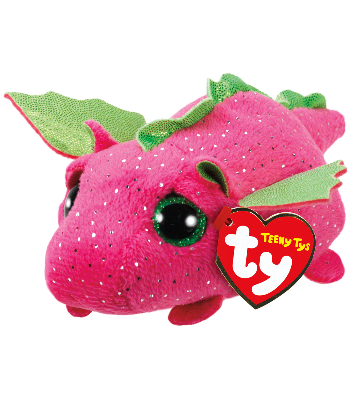 TY Beanie Boo Pink Dragon-Darby  4175620f520