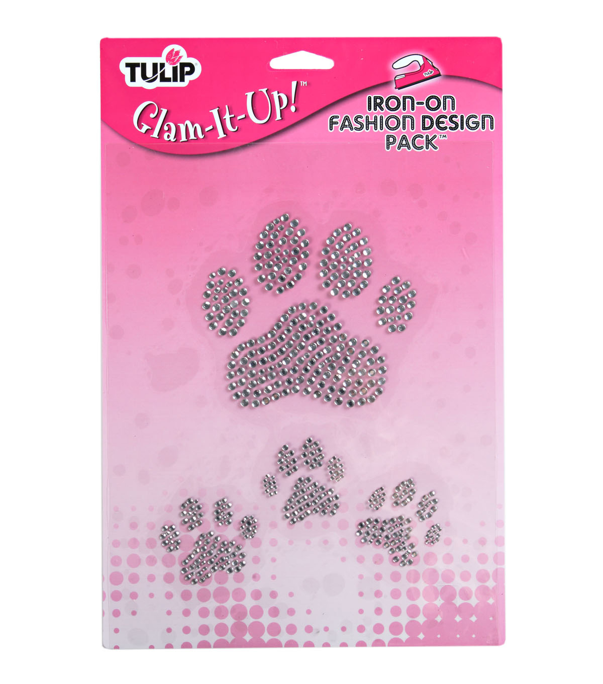 Tulip Glam-It-Up! Iron-On Designs-Large Paws