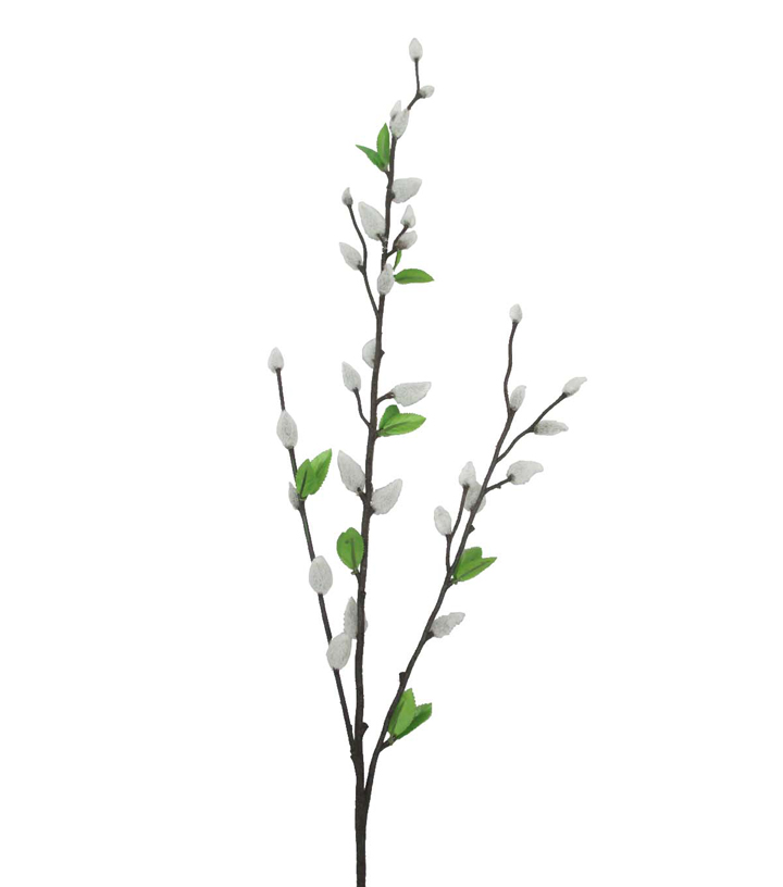 Blooming Spring 35\u0027\u0027 Pussy Willow Spray-Cream
