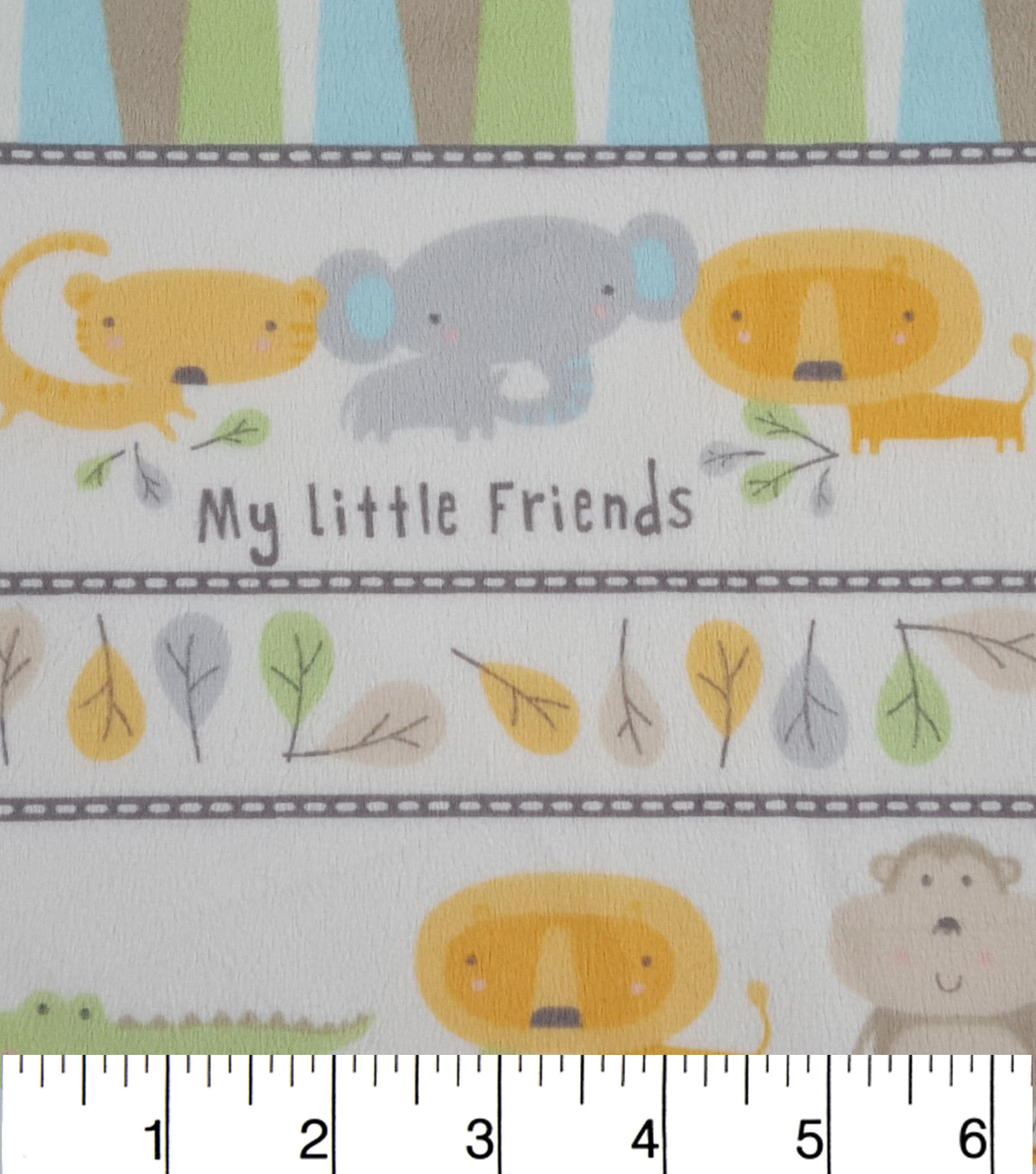 Soft N Comfy Fabric 57\u0022-My Little Friends