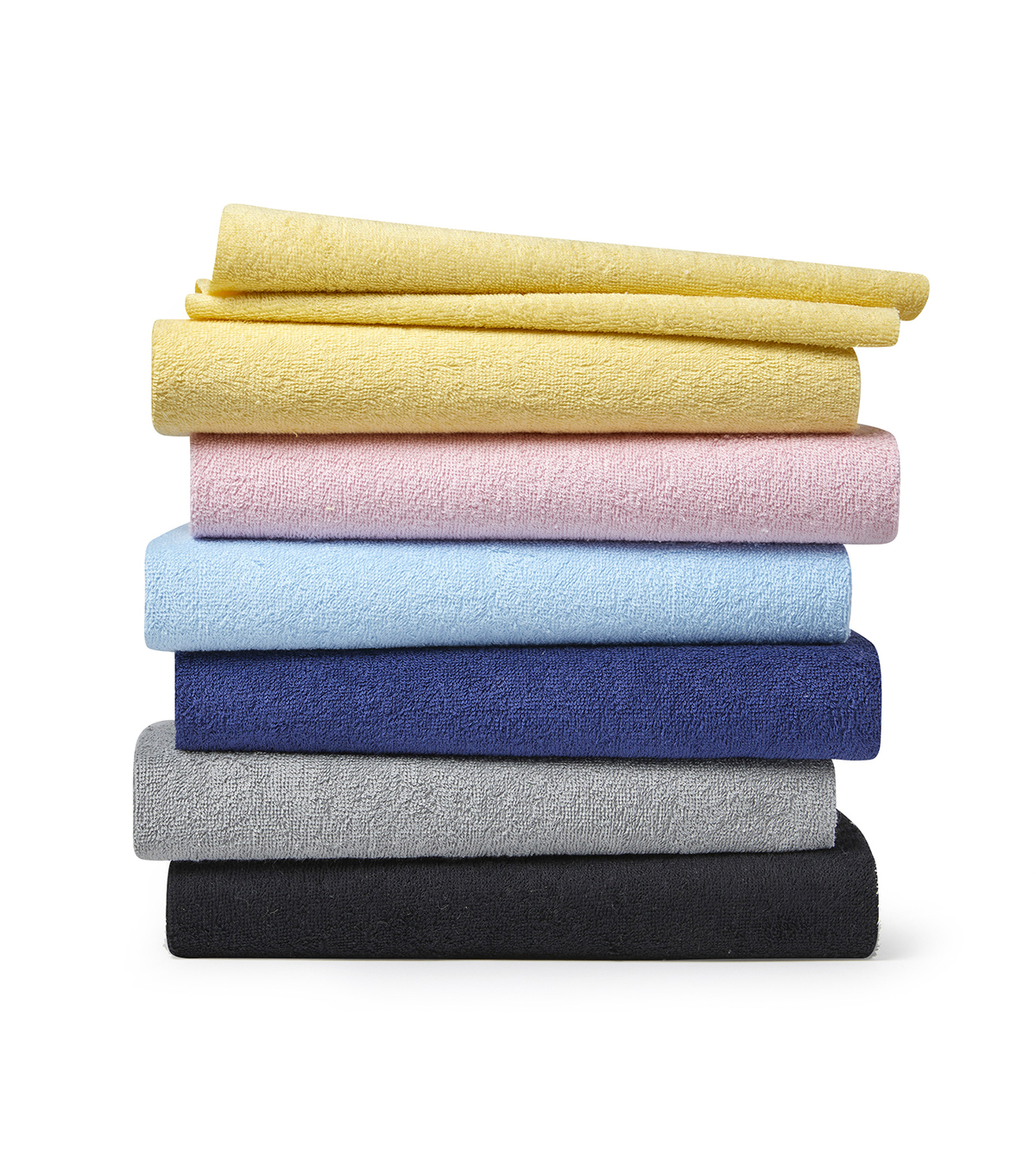 Cotton Terry Cloth Fabric-Solids