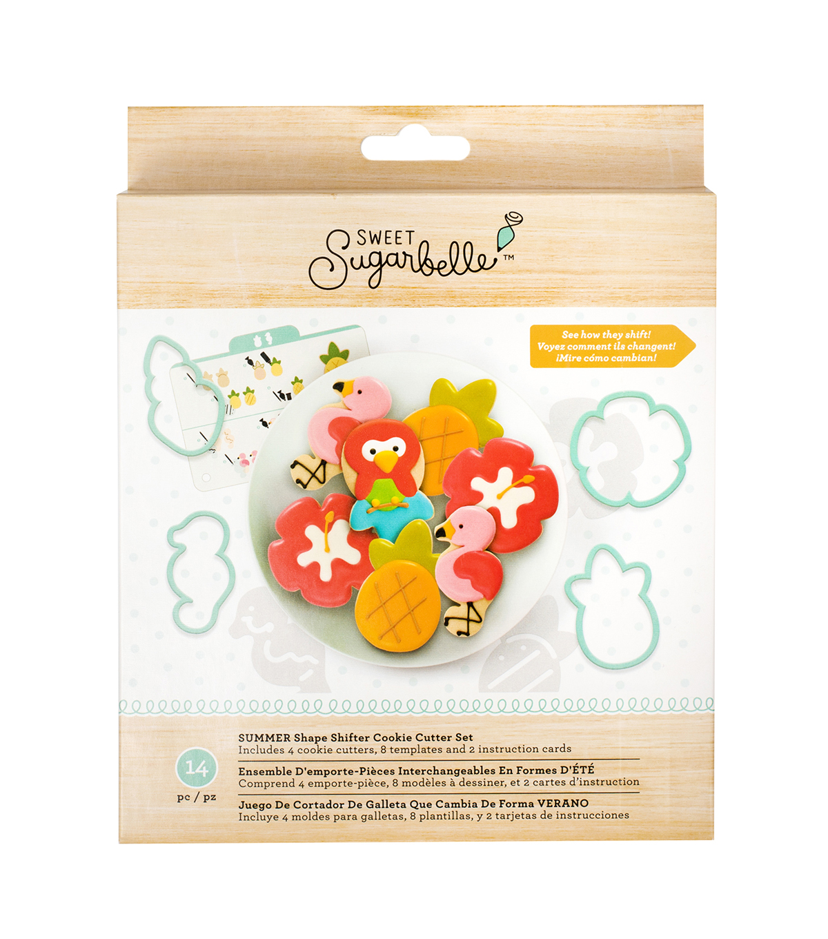 Sweet Sugarbelle Summer Shape Shifter Cookie Cutter Set