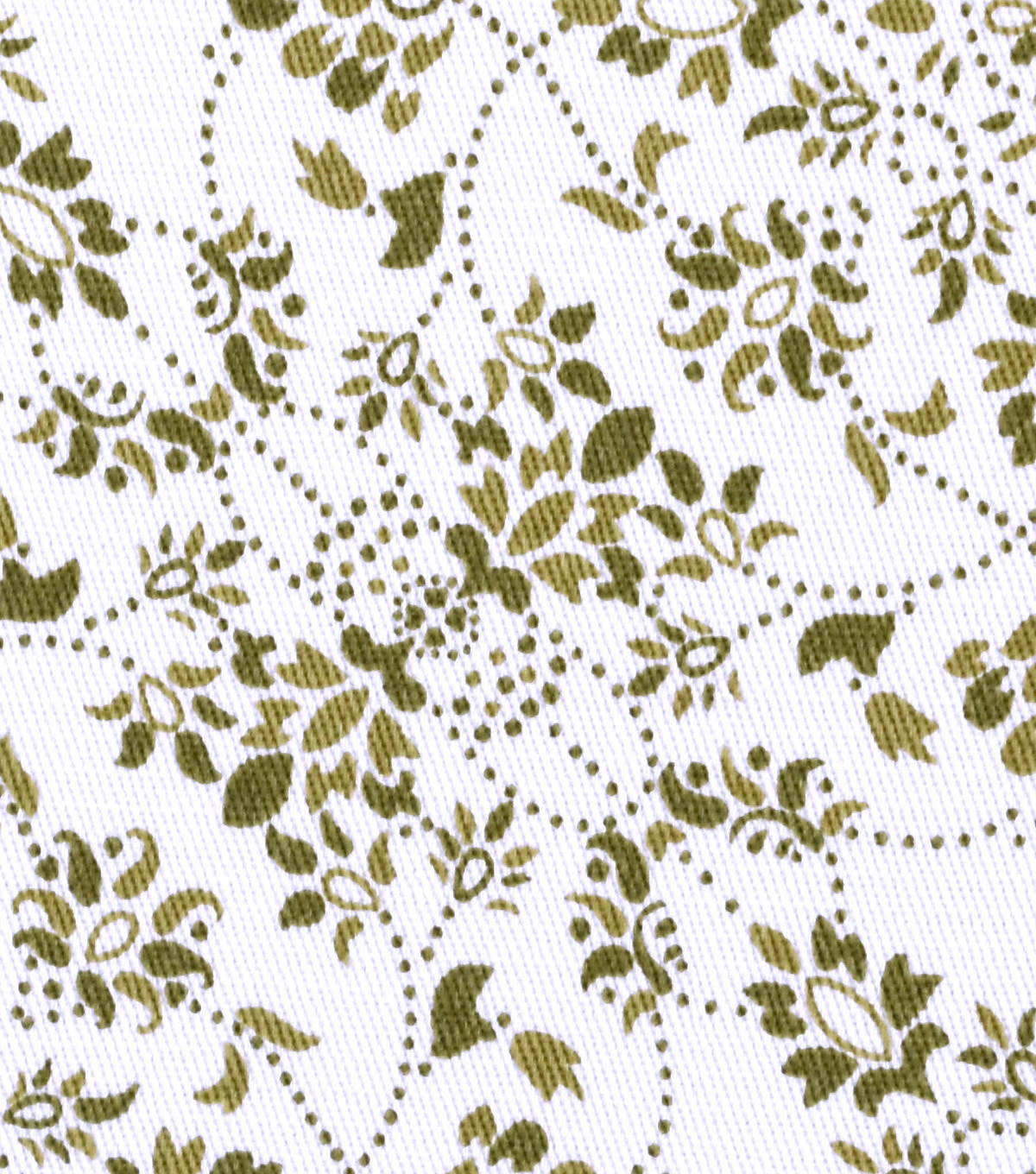 Sportswear Stretch Twill Fabric 31\u0027\u0027-Olive Filigree