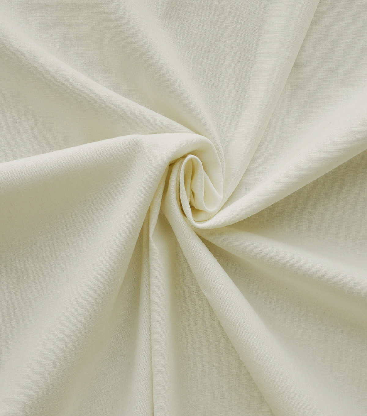 Stretch Linen Blend Fabric 48\u0027\u0027-Ivory