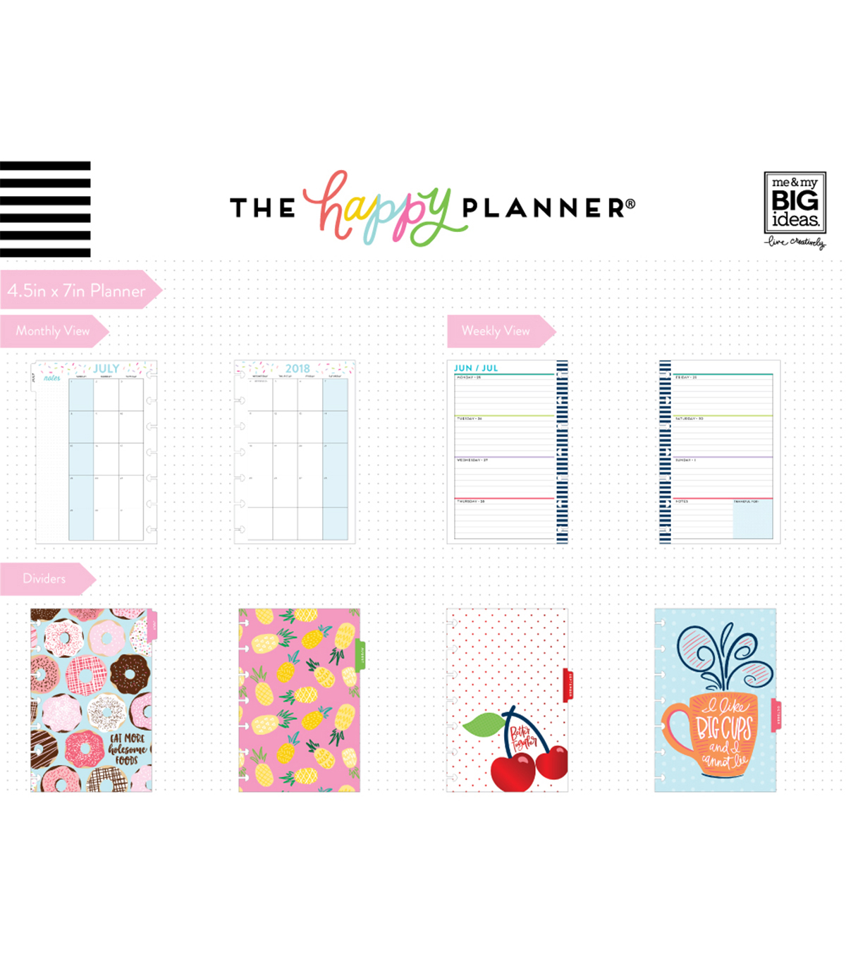 The Happy Planner Mini Dated Planner-Keep Life Fun