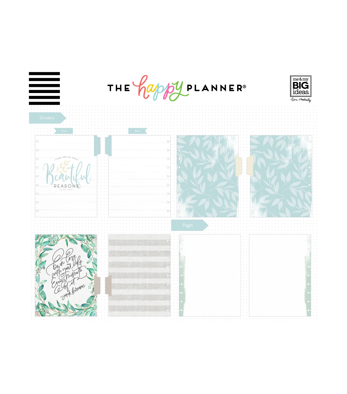 The Happy Planner Happy Notes Classic Notebook-Farmhouse