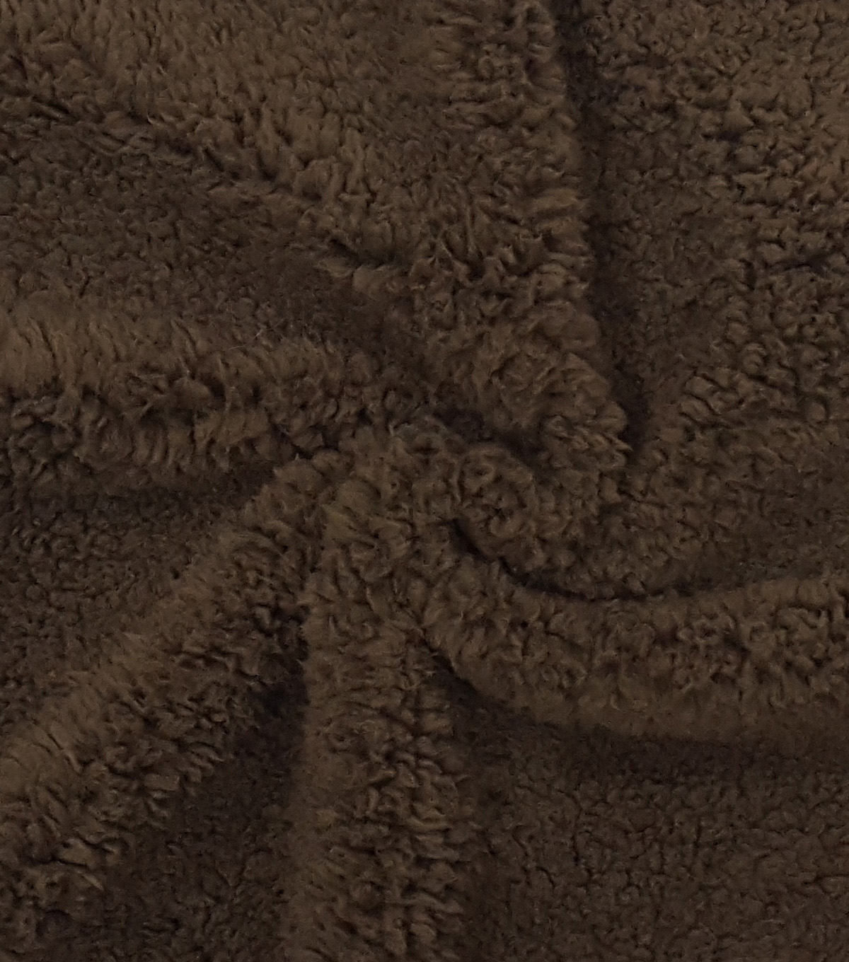Fashion Faux Fur Fabric 57\u0022-Brown Sherpa