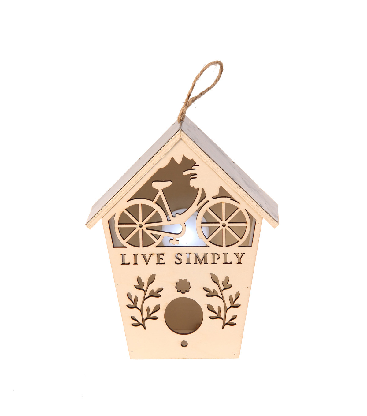 Simply Spring Small Birdhouse with Laser Cut Live Simply & Bicycle