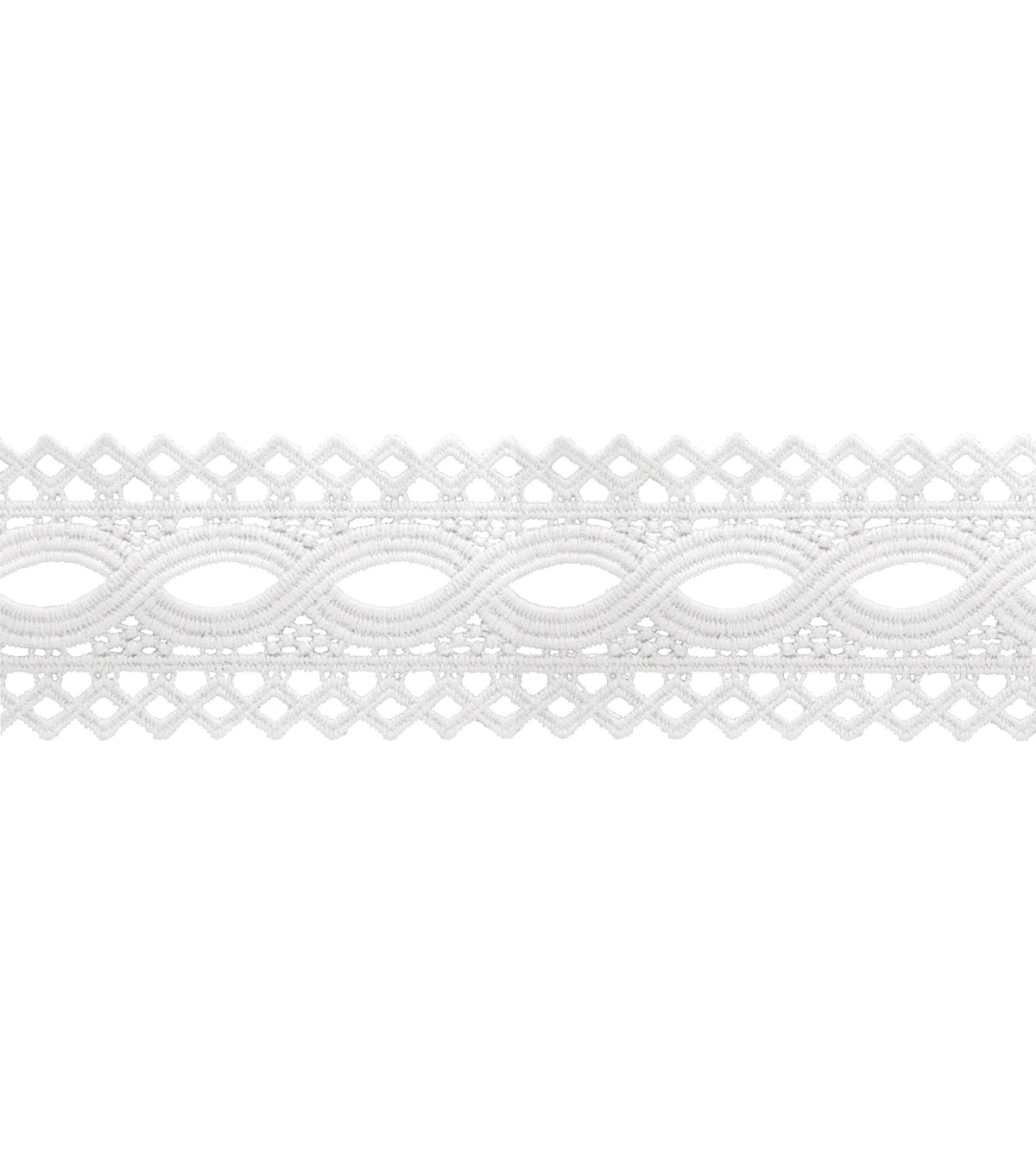 Wrights Eyelash Lace Trim 2\u0027\u0027-White
