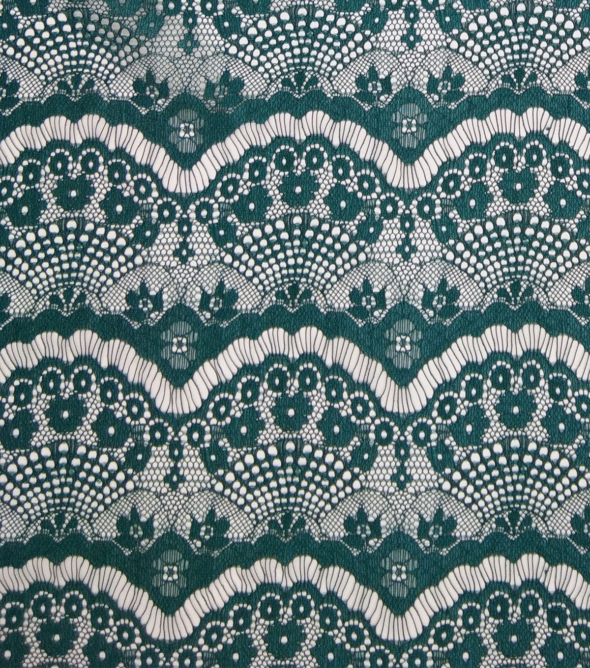 Casa Collection Eyelash Lace Fabric 56\u0022, Botanical Garden