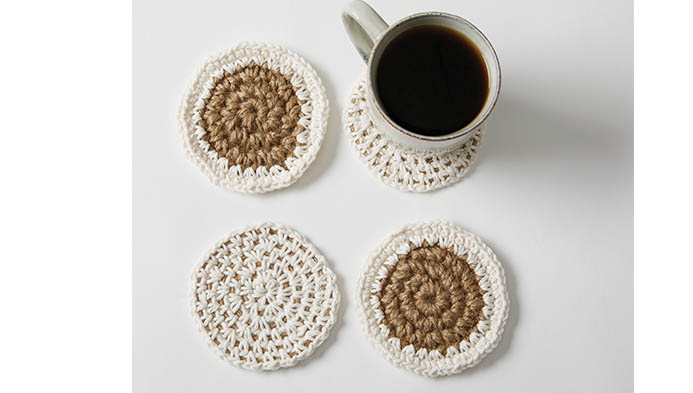 Crochet With Jute And Cotton