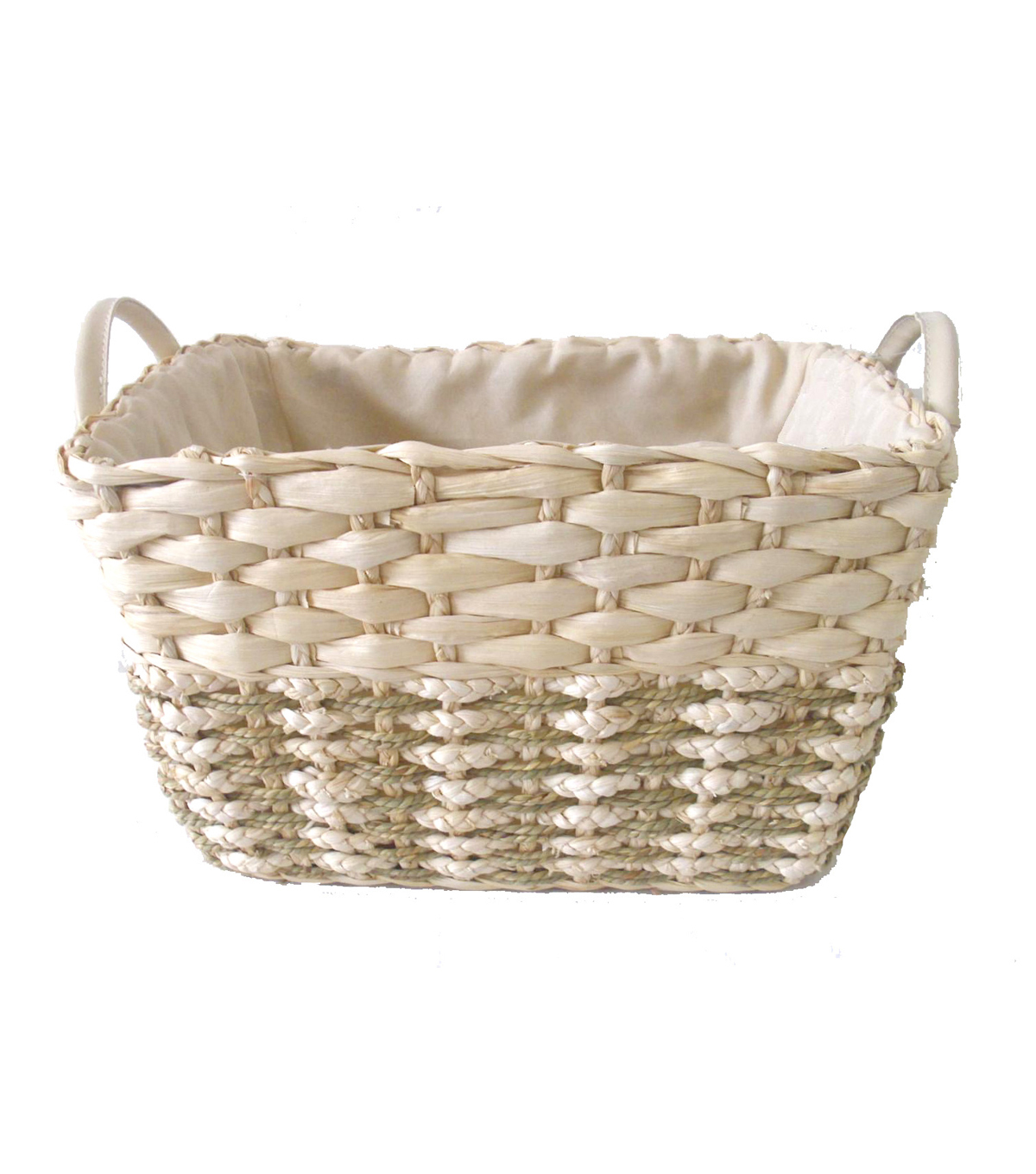 Organizing Essentials Rectangle Corn Seagrass Basket | JOANN
