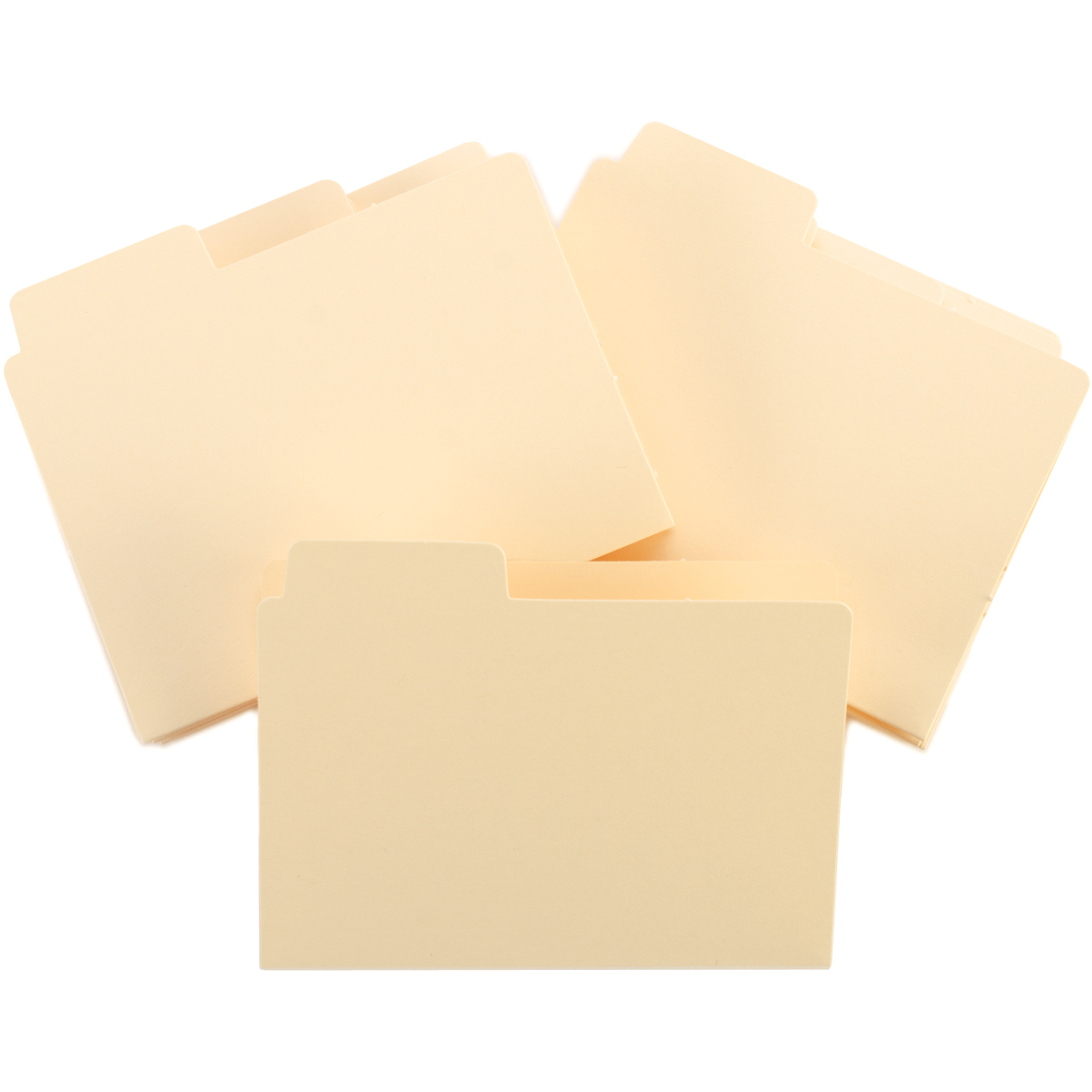 ATC Tabbed File Folders 3\u0022X3.75\u0022 12/Pkg-