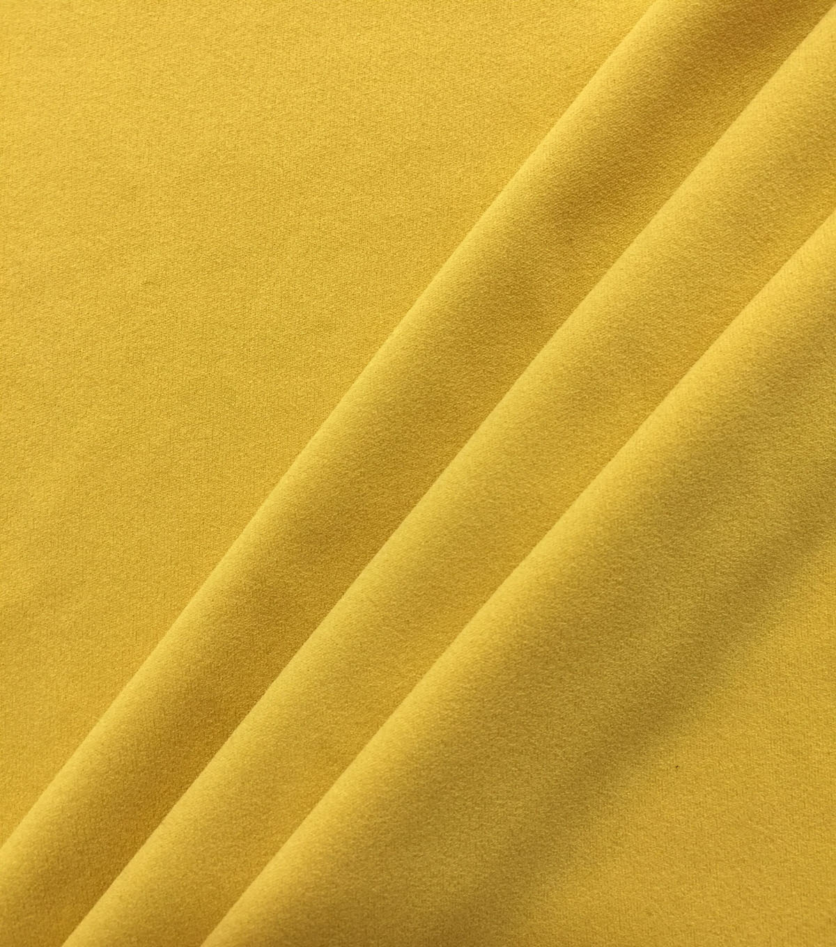 Spring Garden Solid Stretch Knit Crepe Fabric-Mimosa