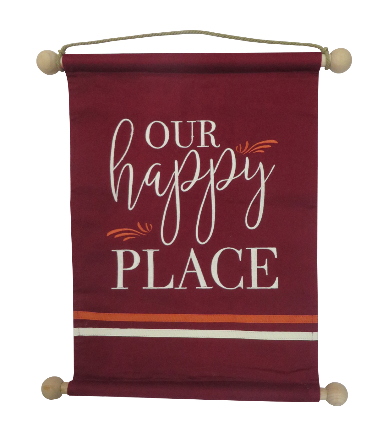 Simply Autumn 13.5\u0027\u0027x18\u0027\u0027 Banner-Our Happy Place