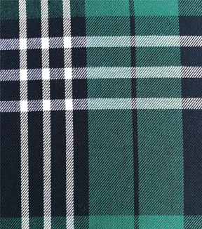 Rayon Stretch Jersey Knit Fabric Beautiful  Plaids print Teal Black White