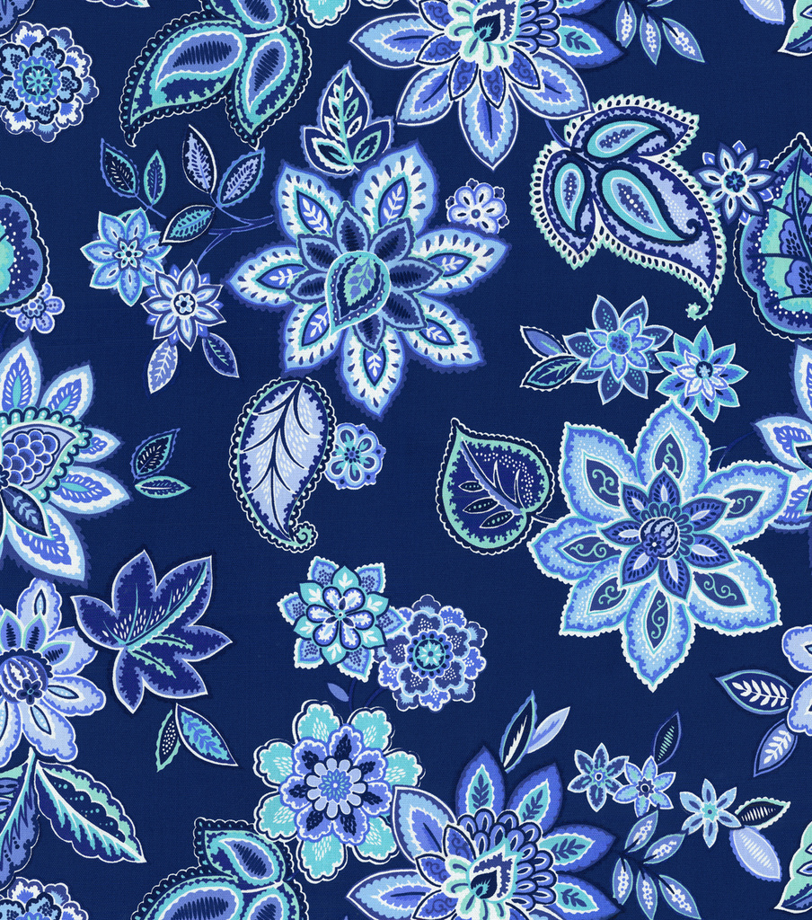 Waverly Lightweight Decor Fabric 54u0022 Charismatic Delft