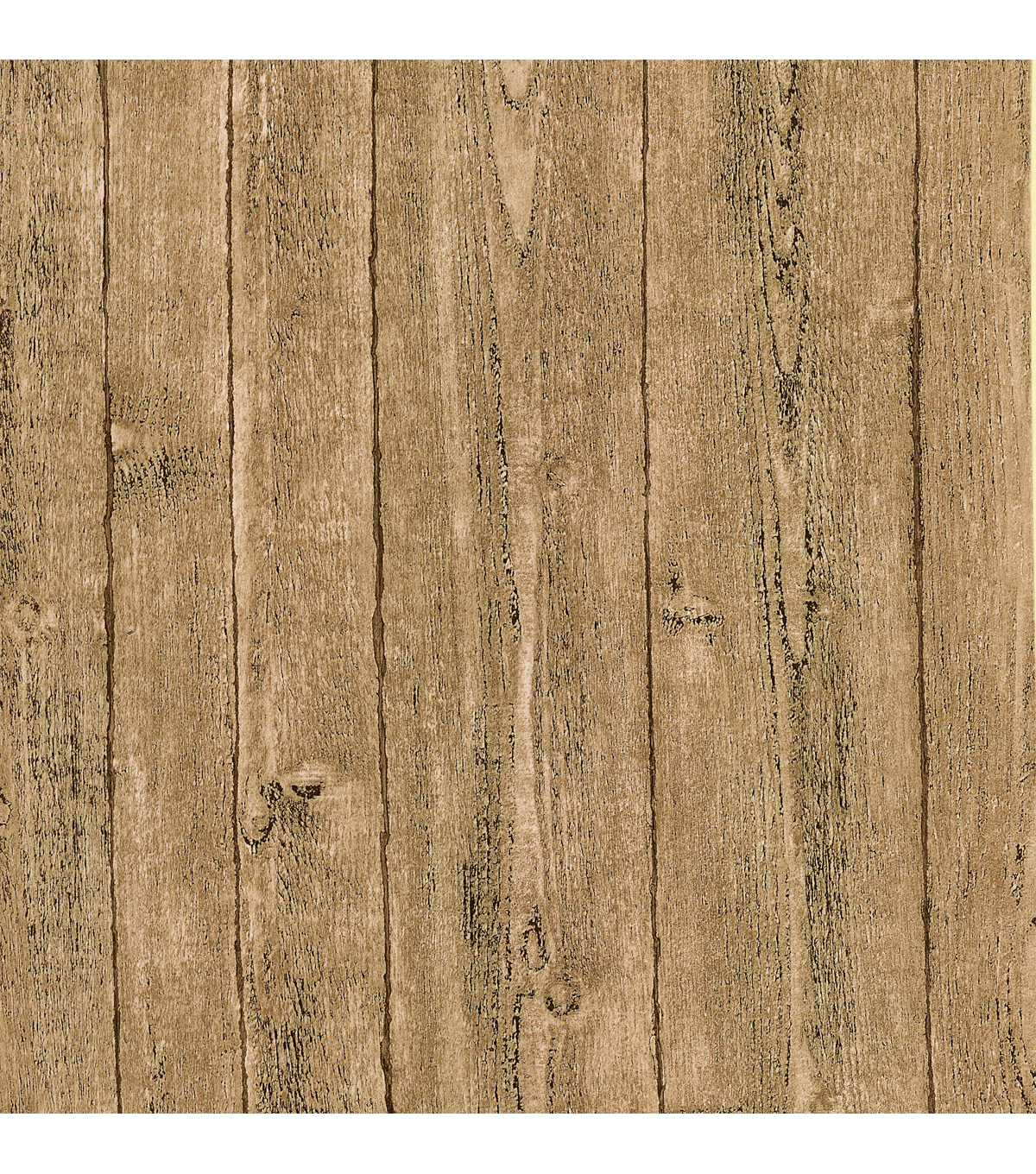 Ardennes Taupe Wood Panel Wallpaper Sample